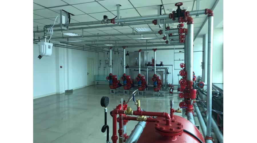 红英消防培训实操教室二水系统