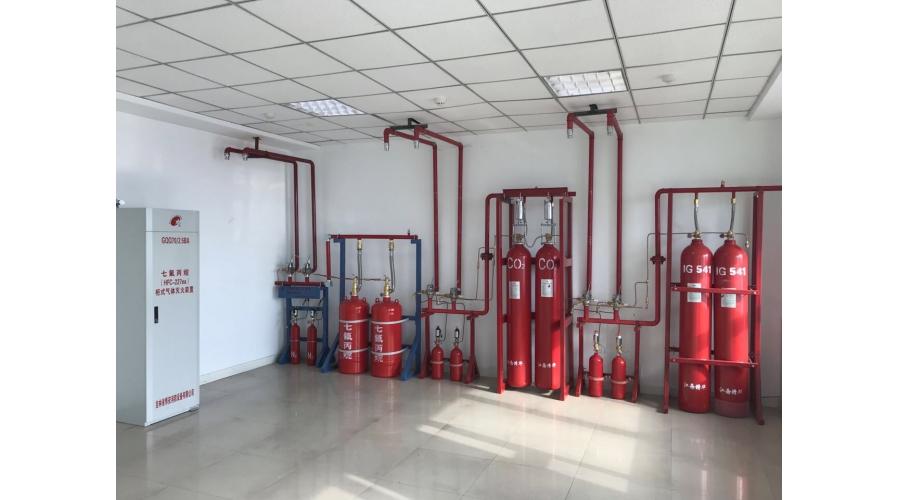 红英消防培训实操教室三气体灭火系统